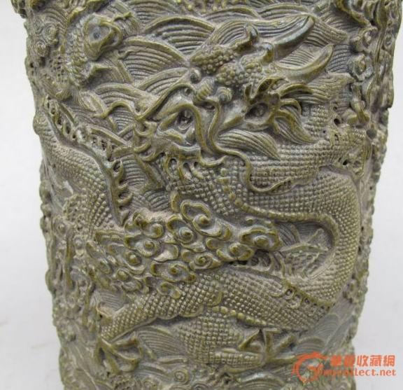 现代龙雕刻图案