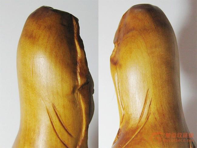 木雕观音——很想知道是什么木材