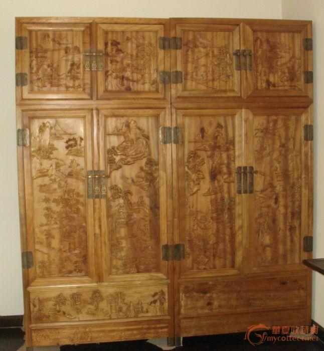 金丝楠木衣柜-图1