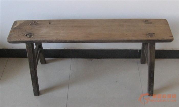 2张楠木板凳
