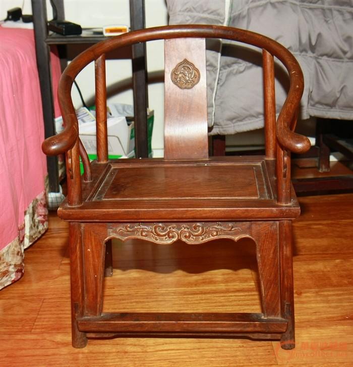 红木小圈椅