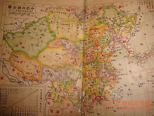 蒙古在中国版图内的中国地图