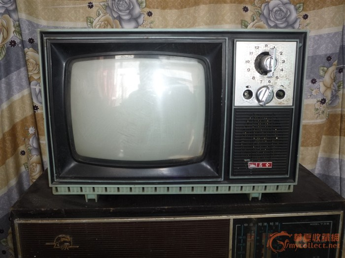 还有凯歌牌黑白电视机