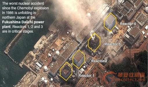福岛核电站采用的是铀钚混合氧化物这种比铀氧原料贵2-3倍,而且危险