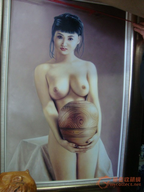 美女油画 图2