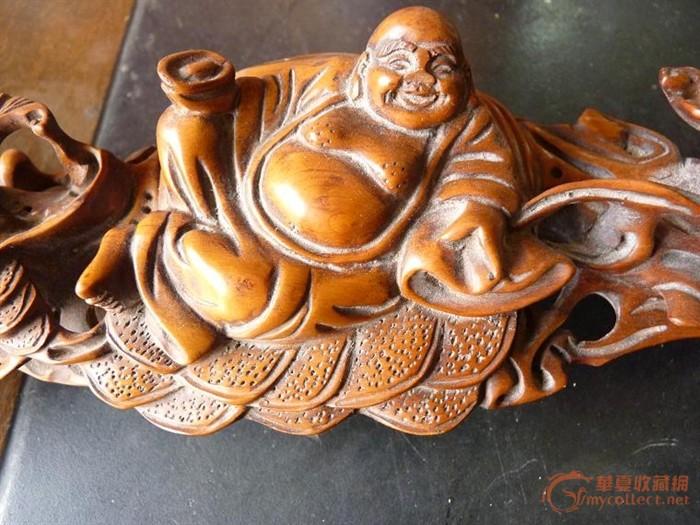 木雕如意-图2