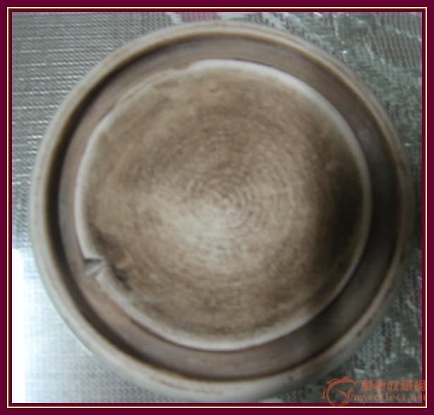 古代化妆用青花瓷器图片