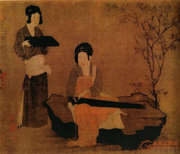 五代两宋人物画 唐代中晚期