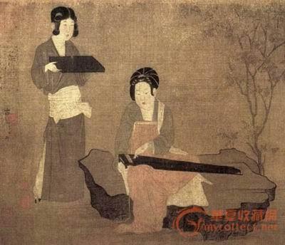 唐朝人物画(图)