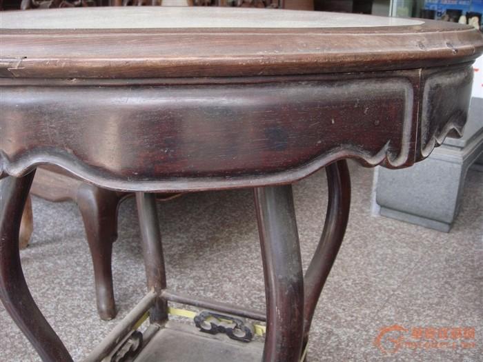 清代红木小圆桌