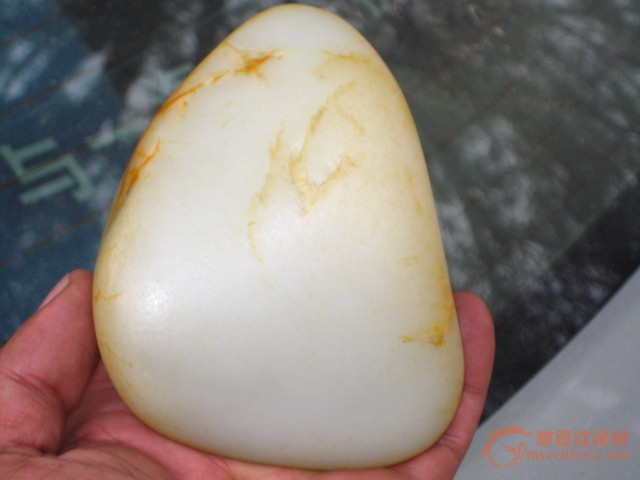 猪板油 玉石