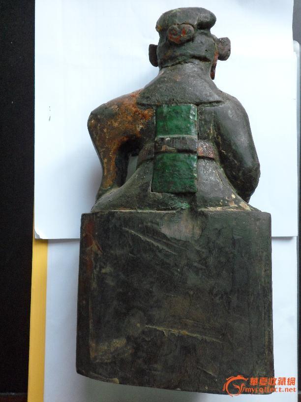 明财神雕像图片