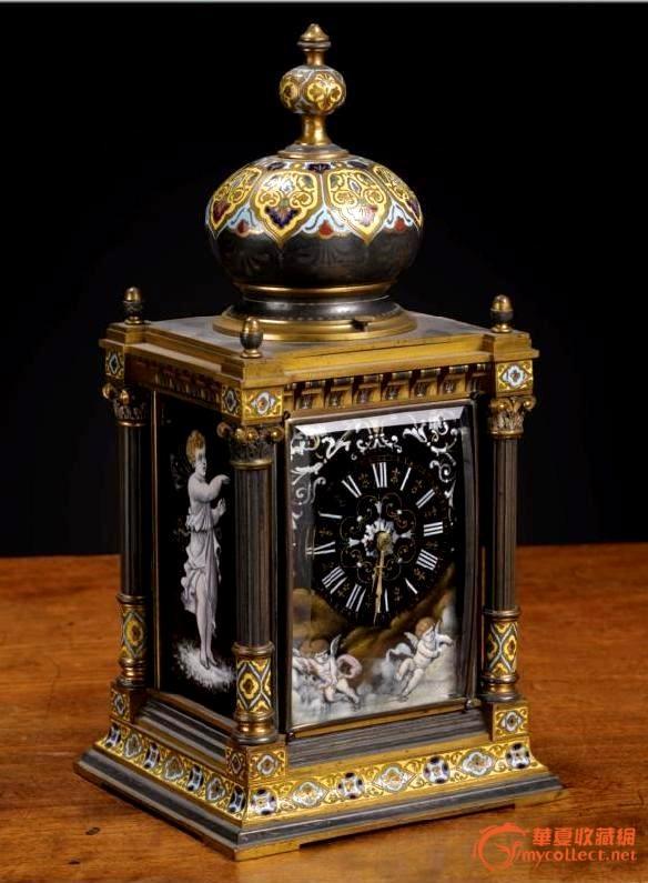 随谈古董西洋钟表的鉴别和评论----欢迎庆兄回到华夏