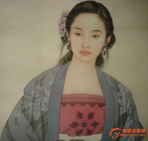 王美芳 赵国经 仕女图