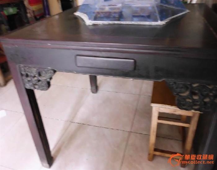 ps素材石桌椅平面图