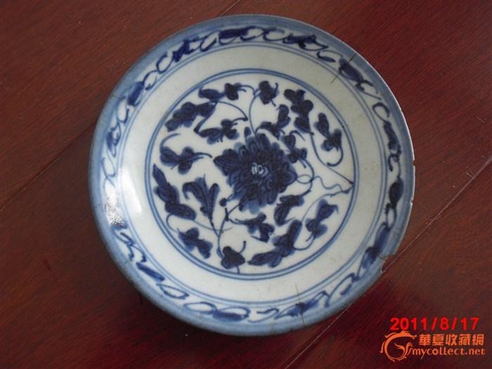 青花瓷盘子-图2