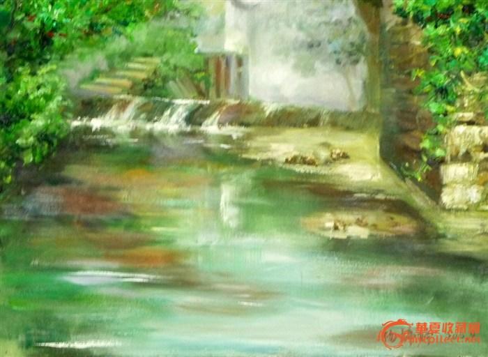 写生_公园风景色彩写生_青岛风景写生色彩_色彩山水 ...