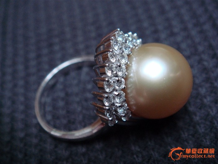 金色珍珠戒指_金色珍珠戒指鉴定