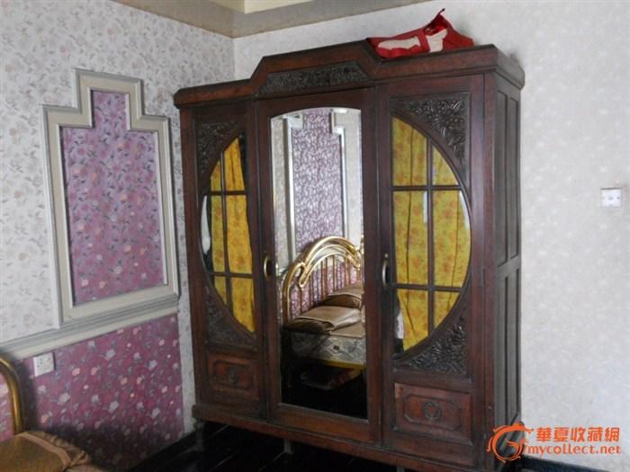 红木西式大衣柜