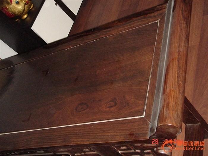 檀木条案 檀木条案 来自藏友李员外 木器 紫檀 藏品鉴定估高清图片