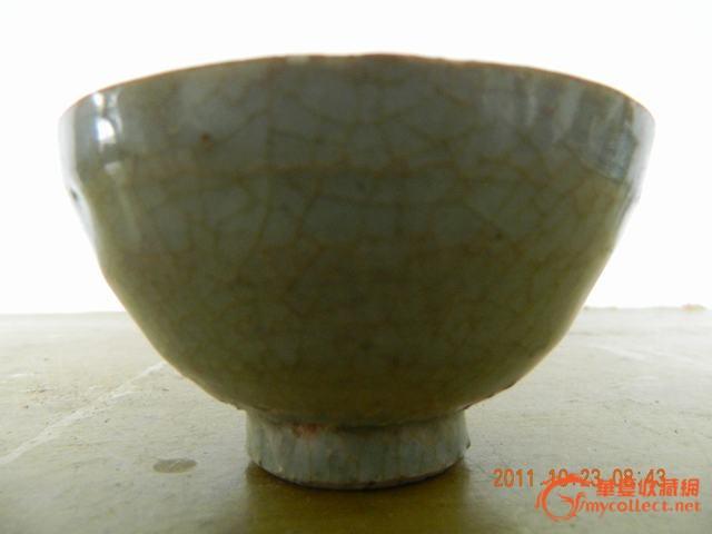 这件小碗是元代景德镇天青釉碗吗?