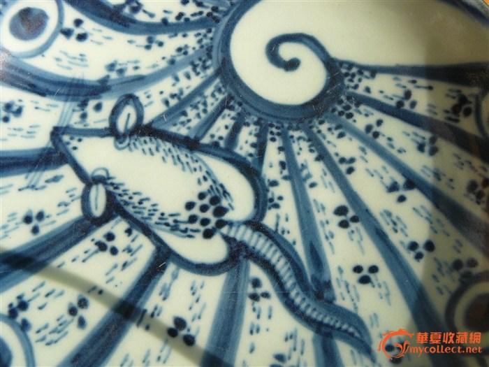 青花瓷盘子-图3