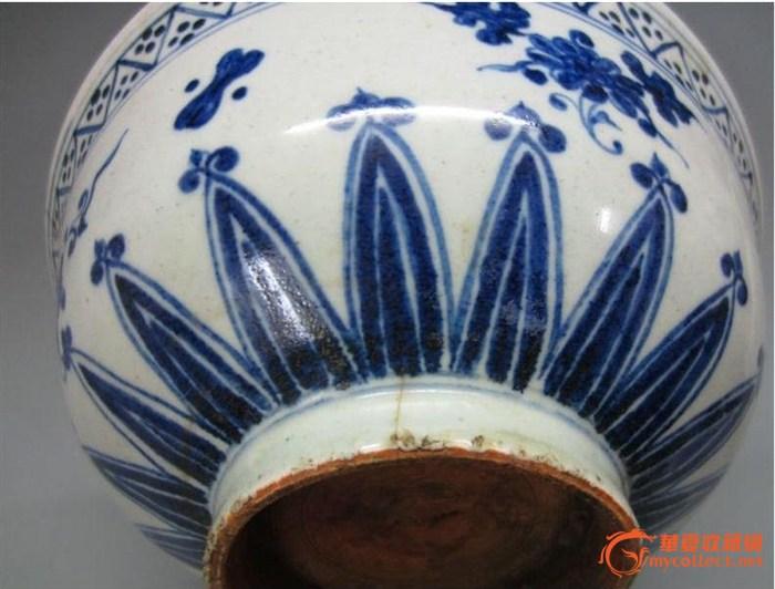 明代漳州窑青花碗