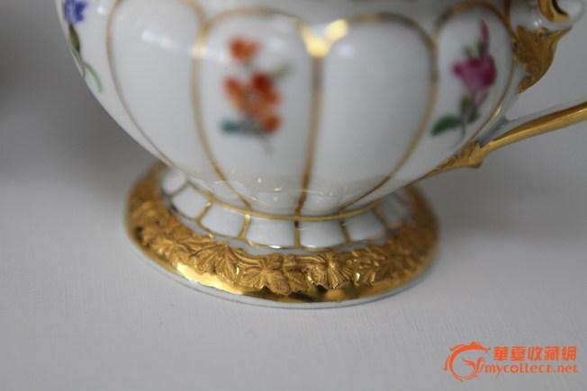 德国meissen咖啡杯碟,来自藏友royqian2010-陶瓷-民国