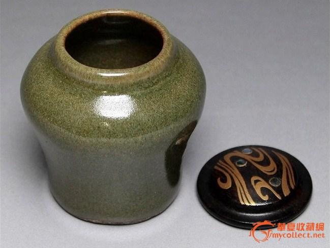 超小巧超可爱茶叶末釉茶叶罐