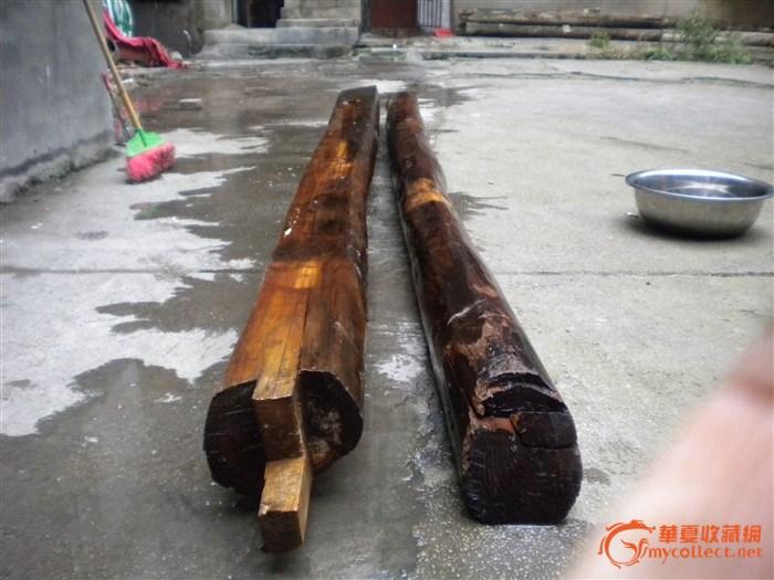 发现于贵州的老料金丝楠木