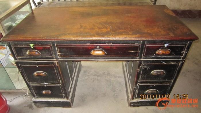金丝楠木大书桌