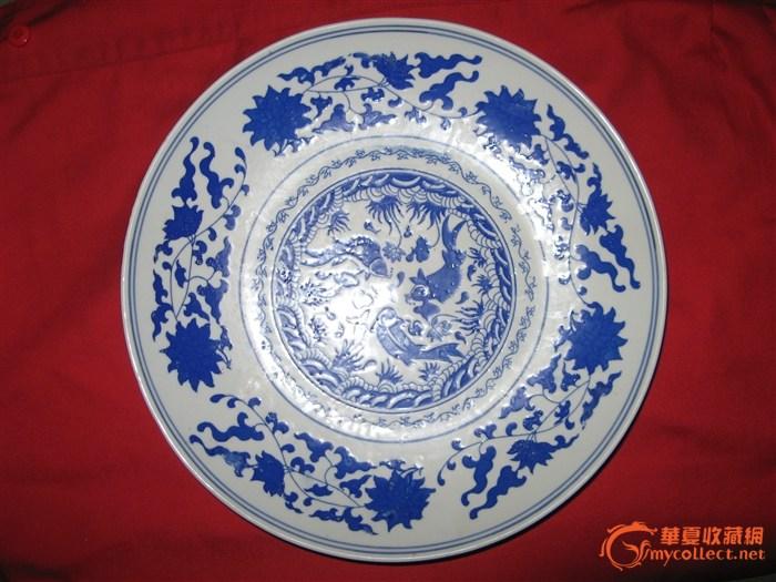 大明万历年瓷器 盘子图片
