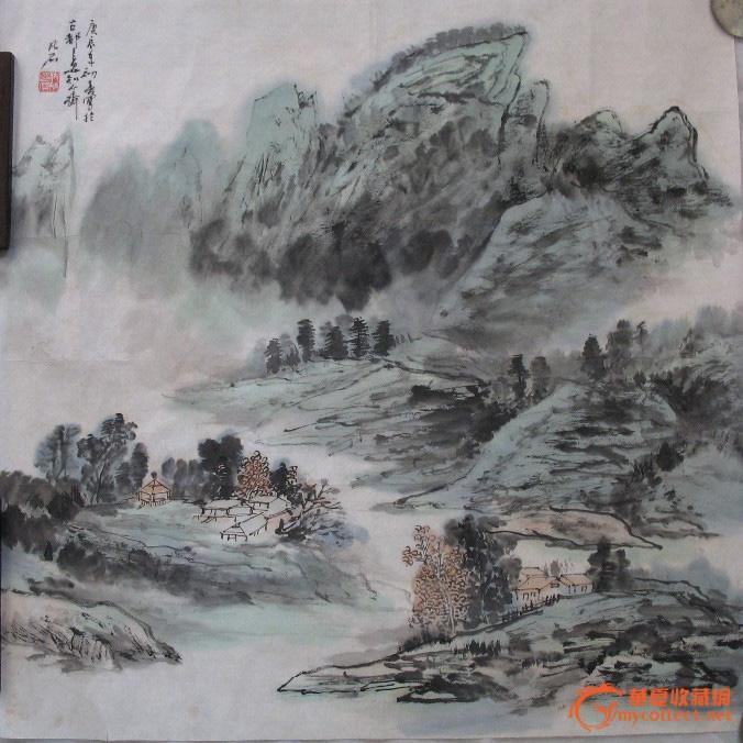 致力于中国书画艺术的研究和探索,对山水,花鸟,人物,书皆在涉猎,尤其