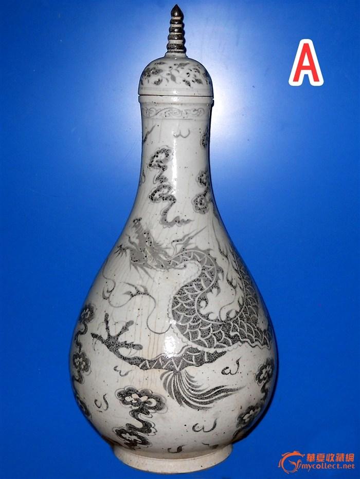 明洪武青花瓷器