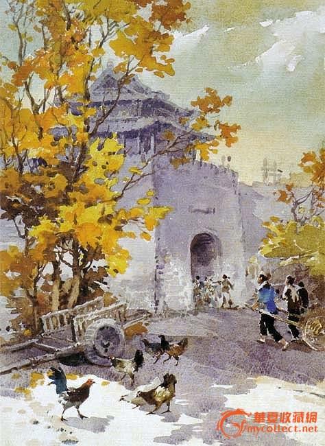 同年,公派赴英国伦敦大学院学习西画,研究,考察英国水彩画.