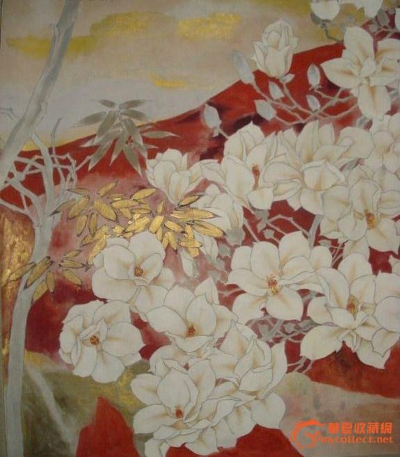 莫晓松 工笔花卉