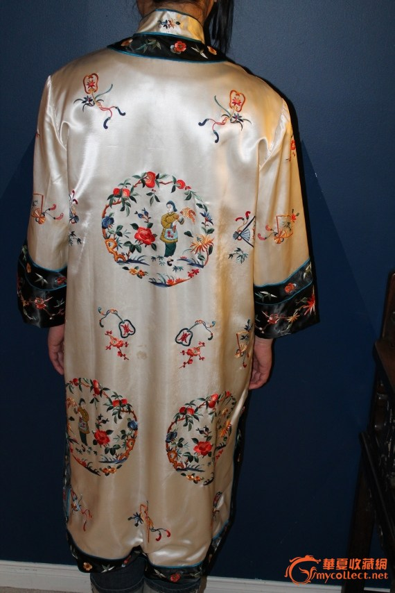 老丝绸衣服