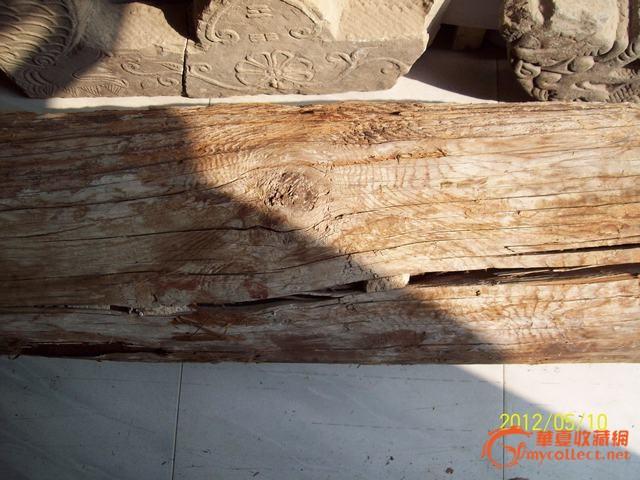 明代成化年建筑拆房料,是金丝楠木吗?