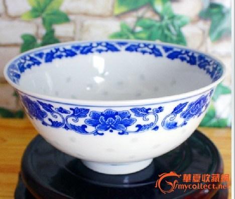 景德镇陶瓷礼品碗 景德镇青花陶瓷礼品寿碗图片