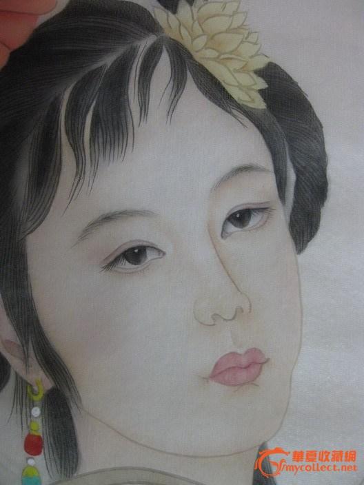 赵国经王美芳仕女画