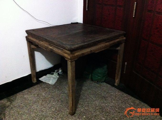 十字枨方桌
