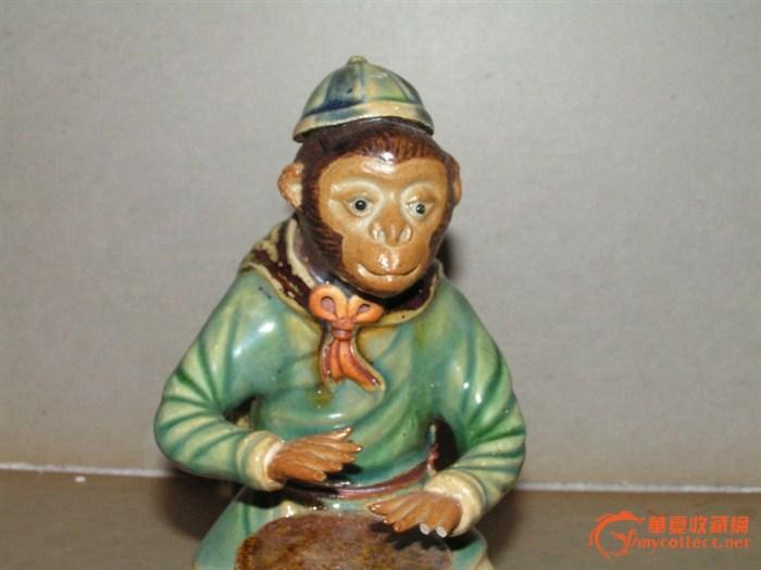 石湾猴子,来自藏友km_2046-瓷器-其它-藏品鉴定估价