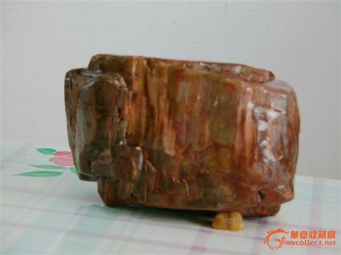木化石_木化石鉴定_来自藏友骑驴石瓮