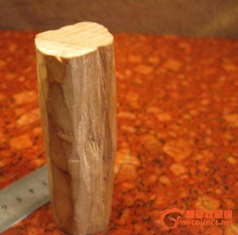 野生檀香木料头一块