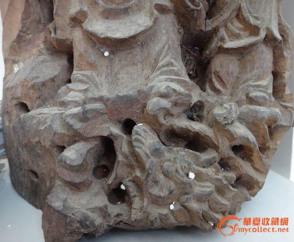 龙眼木木雕观音
