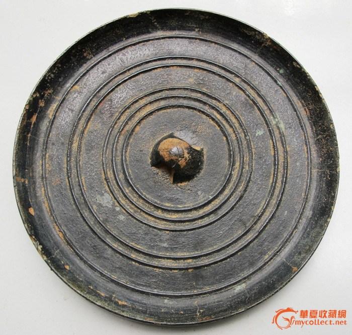汉代玄纹青铜镜