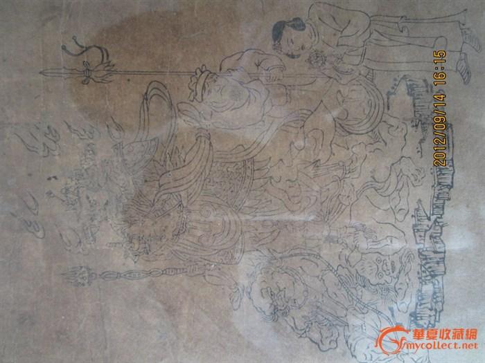 佛教手绘画