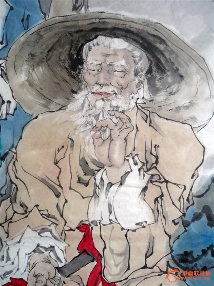 姜太公渭水垂钓图