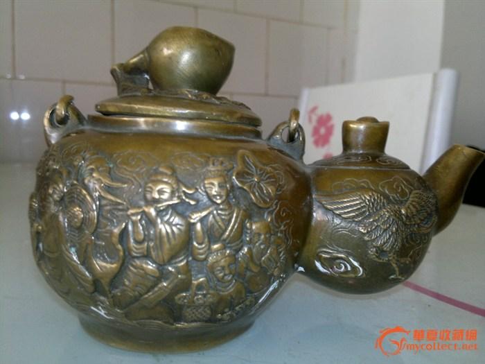 """八仙过海""""葫芦状茶壶"""