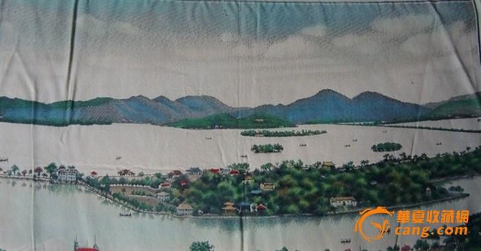 杭州西湖十景ppt-西湖织锦画
